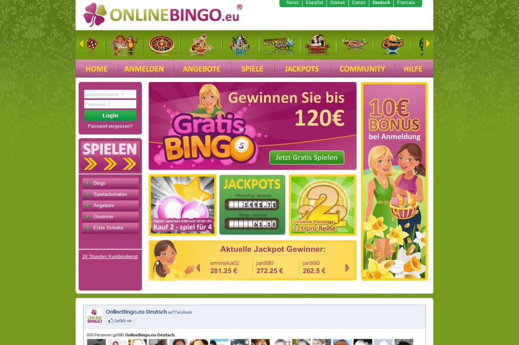 Onlinebingoeu
